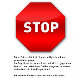Stop! Hier wird zensiert